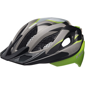 KED Spiri Two Bike Helmet green/black